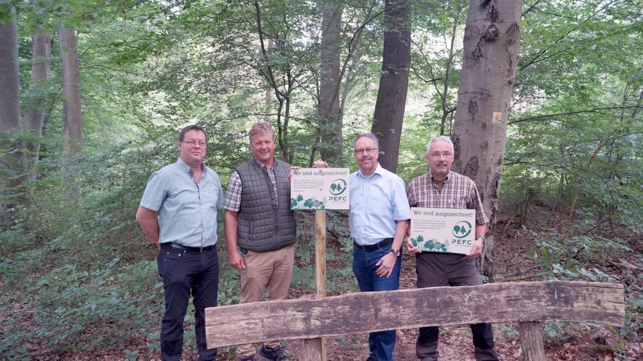 Gemeindewald ausgezeichnet