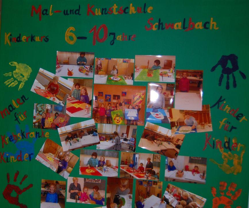 Acrylmalerei und Collagen für Kinder von 6-10 Jahren